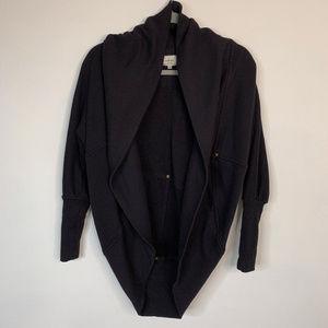 WILFRED Black Cardigan Size Medium